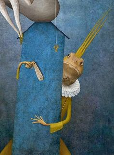 Frog King by Gabriel Pacheco Miguel Angel, Gabriel Pacheco, Childhood Images, Cultural Crafts, Dream Pictures, Mexican Artists, Frog And Toad, Children's Book Illustration, Art Illustrations