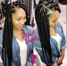 Big Braids Hairstyles Magnificent Nice 45 Breathtaking Hairstyles With Big Box Braids  Being