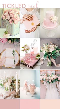 TICKLED PINK | Wedding Inspiration Board | Wedding Inspiration | B.Loved | Luxe and Lovely