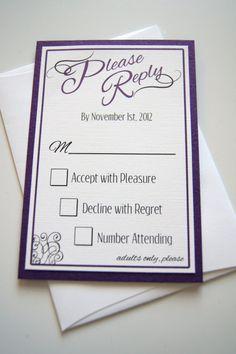 Colby's Custom Purple and Black Pocket by invitationsbykara