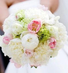 Wedding Bouquet - Beautiful Peonies