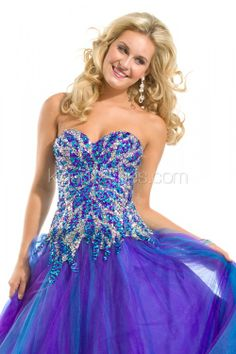 2013 purple  Sweetheart Heavily Beaded Body Ball Gown prom dress with A Line Soft Tulle Fabric