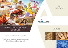 This Sunday, indulge in a gastronomic and embrace the joyful season with delicious Easter surprise and fun-filled for the young ones' enjoyment. So come and get everyone in the family involved! RESERVATIONS: FBSECLHE OR Easter Traditions, Easter Brunch, Egg Hunt, Joyful, Hotel Offers, Special Day, Easter Eggs, Sunday, Seasons