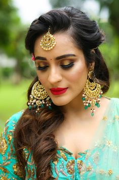 """Photo from album """"Wedding photography"""" posted by photographer FestiveDiaries Bridal Make Up, Bridal Looks, Wedding Make Up, Creative Photography, Wedding Photography, Indian Wedding Outfits, Indian Outfits, Lehenga Wedding, Saree Gown"""
