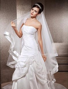 Venus Bridal Wedding Veil with Lace Edge Attached (ivory) ** This is an Amazon Affiliate link. See this great product.
