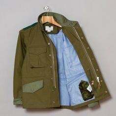 Nanamica Gore-Tex Military Jacket in KK
