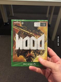 Just got that rad new 'WOOD' game everyone's talking about...