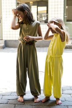 yellow jumpsuit #milibe #scandinavian design. Love it, find it @kalakas.es