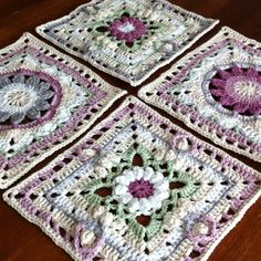 Granny Squares vom SpringlaneCAL von Garnstudio