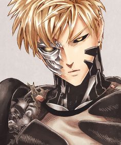 """""""Let my guard down again... When will I ever learn?"""" #onepunchman #genos"""