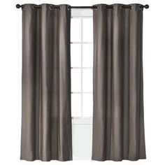 Give your room the finished look you want with the Grayson Grommet Window Panel Pair from Threshold. Functional and elegant, these canvas curtains protect your privacy, reduce sun glare and add color and texture to a room.