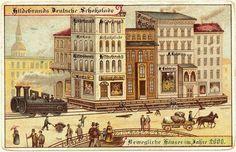 Imagining the world in a 100 years -   En 1900, des cartes postales imaginent lan 2000 carte postale 2000 futur