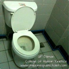 Philippines Public Toilet Chronicles: Public Toilet: University of the Philippines Colle...
