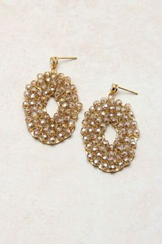 14K Champagne Odette Earrings / Emma Stine