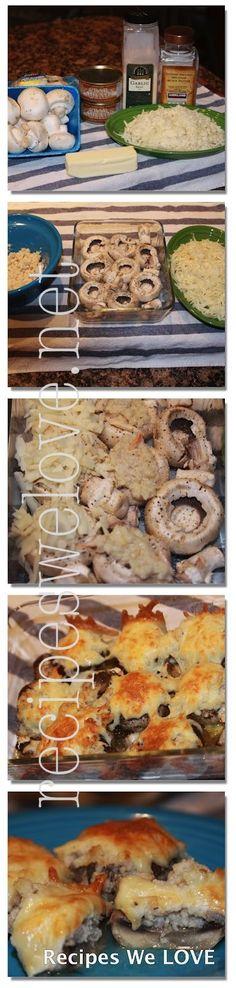 Crab Stuffed Mushrooms | Recipes We Love