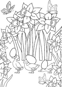 82 Best Easter Coloring Pages images | Easter coloring ...
