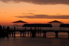 Scene of Tranquility: Dusk by the Tawau Jetty
