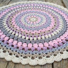 All this Beautiful colors #crochetmandala #colortherapy