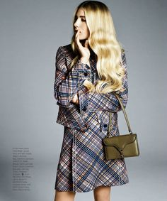 Dree Hemingway by Kacper Kasprzyk for Harper's Bazaar US October 2014