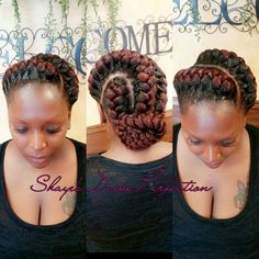 (Goddess Braids)  #ArlingtonStylist  #SatisfiedClient #ShayedAndSlayed  Contact my assistant at (817)714-8362 Www.Styleseat.com/shalandawilliams2 @IG shayes_dvine_Perfection