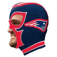 Patriots Spandex Fan Mask