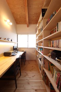 青木昌則建築研究所 の  書斎