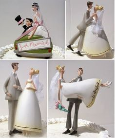 Vintage Wedding Cake Toppers | http://simpleweddingstuff.blogspot.com/2014/05/vintage-wedding-cake-toppers.html