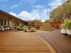 As with bamboo, cocowood is a sustainable timber and, whereas the old trees were previously discarded to make way for new crops, they are now cut and engineered for use around the world. http://www.easydiy.co.za/index.php/garden/397-greener-alternatives-for-decks