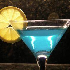 Blue Ball Martini