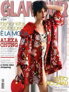Alexa Chung | Glamour Italia April 2014 (Photography: Patrick Demarchelier)