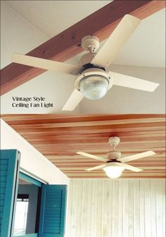 Ceiling Fan, Vintage Fashion, Wallpaper, Interior, Room, Home Decor, Style, Bedroom, Swag