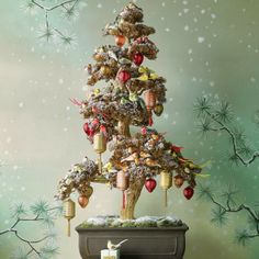 Chinoiserie Chic: The Easy Peasy Chinoiserie Chic Christmas Tree