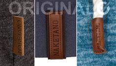Naketano Tag Label & Kordel - Original oder Fälschung erkennen