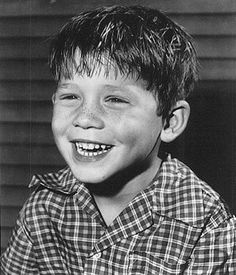 We all know and love Opie from The Andy Griffith Show.  I would give anything to adopt him!  Even though he's my age, lol.