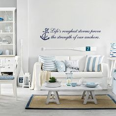 Life's Roughest Storms Wall Design on Etsy, $28.00