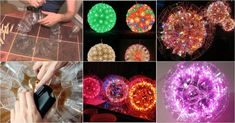 DIY How to Make Plastic Cup Sparkle Ball (Video)