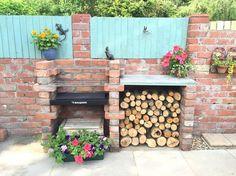 Gartengrill Mit Platz Für Brennholz