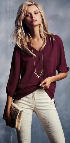 Gorgeous Top Paired with Lovly Jeans