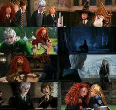 hogwarts au the big four