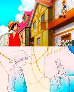All Anime, Anime Love, Luffy X Nami, One Piece Nami, One Piece Pictures, One Piece Fanart, The Masterpiece, Nalu, Pirates