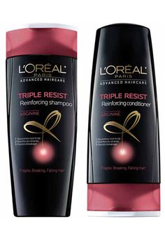 The new Triple Resist collection in the brand's Advanced Hair Care line features a concentrated amino-acid-protein blend that targets weakened, breakage-prone points in the hair shaft and helps fortify and reinforce them in an effort to prevent breakage.