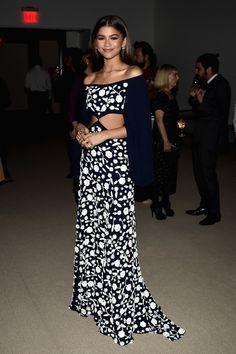 Zendaya at the 2016 CFDA/Vogue Fashion Fund gala dinner.