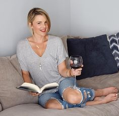 Here Ali Fedotowsky is wearing the Sahara Pendant - a personal favorite! It's easy to wear over a t-shirt for a chic everyday look or layer with delicate necklaces to make more of a statement. Learn more in this blog post from www.EmpoweredElaine.com