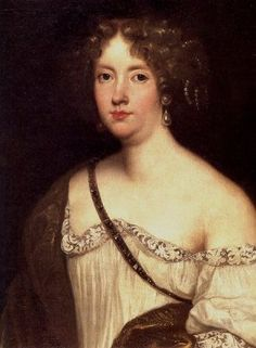 (artist unknown) Princess Palatine, Elizabeth Charlotte, DUCHESSE D'ORLÉANS - (1652-1722) second wife of king Louis XIV's brother Philippe I