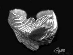 MR53 Cuttlebone ING III in sterling silver by MAES on Etsy, $99.00