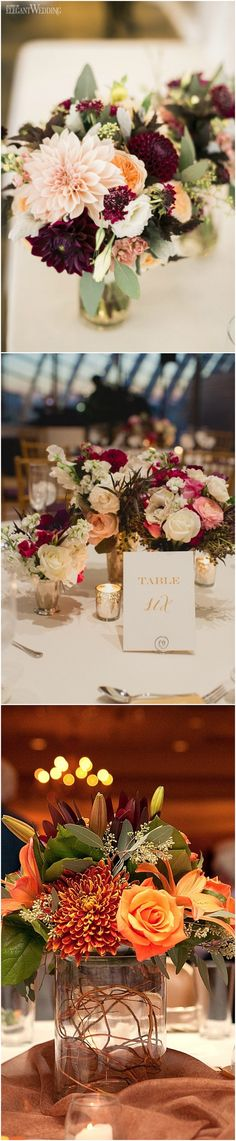 wedding centerpiece ideas for fall #weddingideas #weddingdecor #fallwedding #autumnwedding