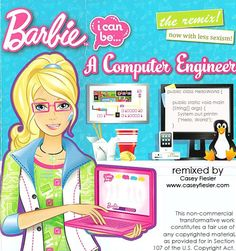 Computer PhD Candidate Remixes Offensive Barbie Book and Makes the Iconic Doll a Computer Engineer
