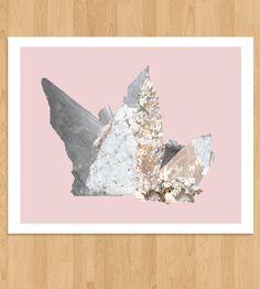 Raw Jewel Art Print |
