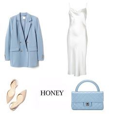 #honeylook #look #style Ootd, Polyvore, How To Wear, Honey, Outfit Ideas, Outfits, Beauty, Dresses, Summer