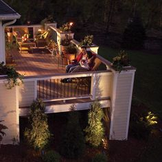 Low voltage lighting is simple and safe to install on decks, patios or around the garden, even for beginners. Learn about lighting options and installation techniques.